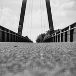 lomography - on the bottom of the bridge