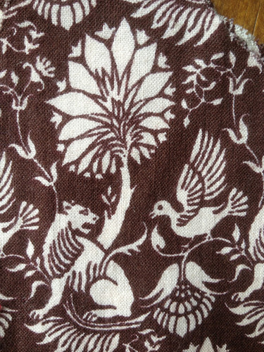 Laura Ashley fabric, early 1970s