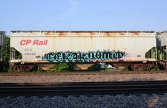 GEKAR VOMIT (The Braindead) Tags: art minnesota train bench photography graffiti painted tracks minneapolis rail explore beyond the