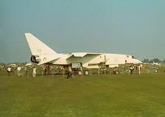 TSR-2 XR222, Cranfield Air Pageant 8-9-73 (Proplinerman) Tags: aircraft bac cranfield tsr2 xr222
