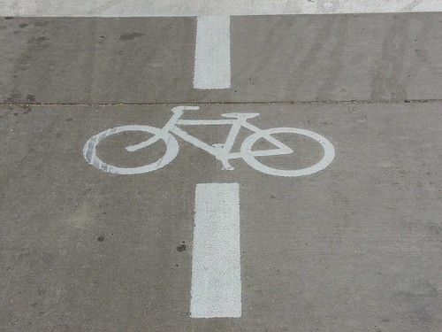Photo - Bike Signal Marking