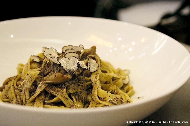 【法式異國料理】台北大安.松露之家:塔莉亞野菇松露麵