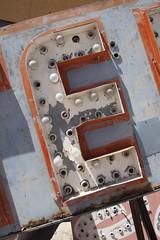 Neon Boneyard (DerickCarss) Tags: old las vegas signs sign museum vintage hotel design la neon nevada casino nv signage scrapyard concha boneyard lv oldfashioned