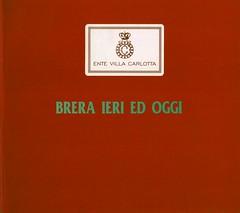 1996 -BRERA IERI E OGGI-VILLA CARLOTTA-COMO