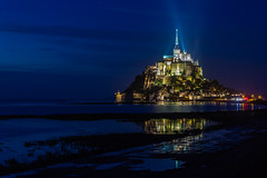 Le Mont St. Michel  ( Unesco world heritage) (Frans.Sellies) Tags: world france heritage church abbey night site unescoworldheritagesite unesco worldheritagesite clear list reflexions unescoworldheritage sites worldheritage weltkulturerbe whs abbaye humanidad patrimonio worldheritagelist welterbe kulturerbe patrimoniodelahumanidad heritagesite unescowhs ph308 patrimoinemondial werelderfgoed vrldsarv  heritagelist img9904 werelderfgoedlijst verdensarven   patriomoniodelahumanidad    patriomonio nationalgeographicworldwide 20130920img9904