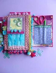 Craft Organizer 5 (Elena Fiore) Tags: journal craft organizer fabric elenafiore