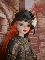 Ellowyne : une doudoune bien chaude pour l'hiver (Le petit atelier de Valentine) Tags: robert fashion amber doll wilde clothes chapeau cami prudence lizette poupe tonner doudoune amricaine ellowyne