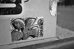 laid low (damonabnormal) Tags: street city urban streetart philadelphia october sticker stickerart fuji stickers urbanart pa philly phl urbanite x100 citystickers 2013 artinpublic phillystreetart