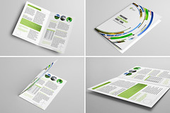 Bi-fold Brochure 24 (Demorfoza) Tags: green nature magazine print design energy graphic ad free save clean half environment fold leaflet a4 brochure bi template pamphlet bifold halffold