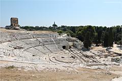 Teatro Greco. (Martinaway) Tags: italy history greek italia sicily sicilia siracusa teatrogreco neapolis martinaway