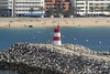 Sesimbra Pierhead Light (Larry Myhre) Tags: lighthouse portugal farol sesimbra