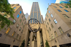 30 Rockefeller Plaza (bwilliamp) Tags: nyc newyorkcity usa ny newyork manhattan bigapple 30rock 30rockefellerplaza