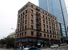 1521 3rd Ave, Seattle, Washington (Cragin Spring) Tags: seattle city urban building corner washington pacificnorthwest wa oldbuilding seattlewa seattlewashington