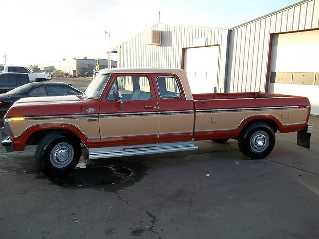 ford truck ranger cab pickup super 1979 supercab xlt f250