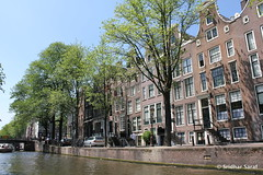 Canals of Amsterdam, Netherlands - July 2013 (SridharSaraf) Tags: summer holland netherlands amsterdam europe canals veniceofthenorth amsterdamcanals 2013 canalsofamsterdam