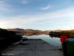 Off the Jetty in Meavaig, Bays of Harris (age 13) - Joan Macleod