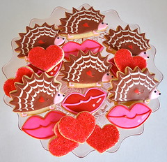 Hedgehogs and Kisses Valentine Cookie Collection