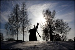 Mill (renschmensch) Tags: mill silhouette mhle