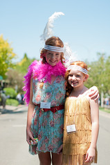 Roaring 20's and all that jazz festival (benpearse) Tags: world street blue 1920s costumes mountains festival that dance all ben australian feathers jazz australia parade charleston boa nsw record february guiness attempt katoomba roaring leura 2014 pearse 2os