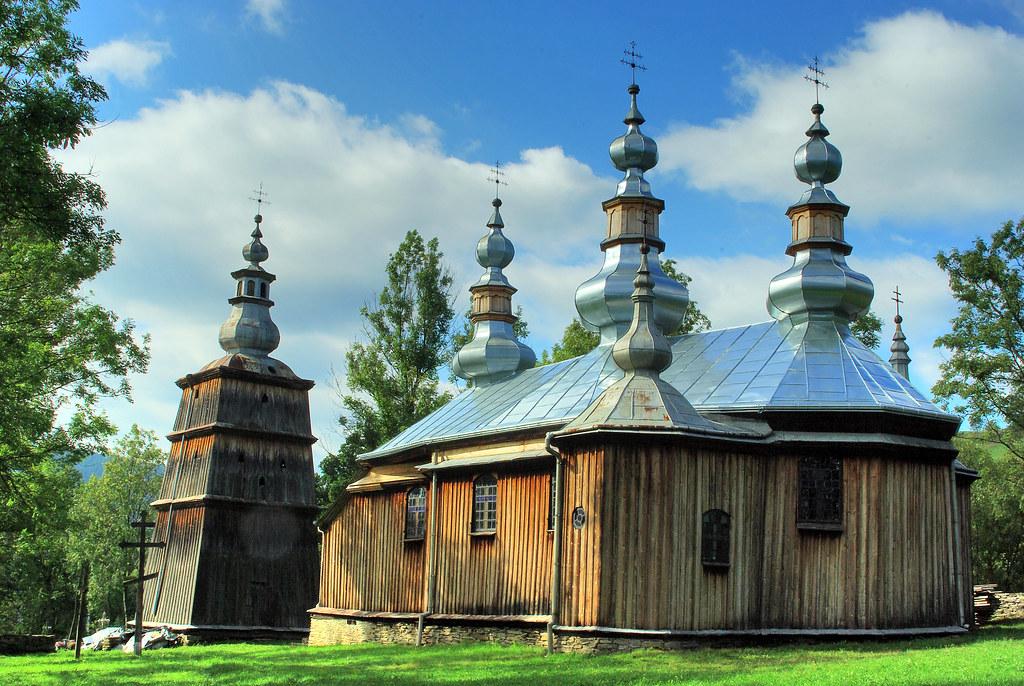 Wooden Tserkvas