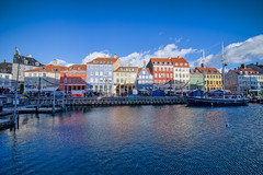 (szk_a) Tags: street travel house port copenhagen denmark nyhavn town market sony sigma newport 1224mm shorttrip slta99v