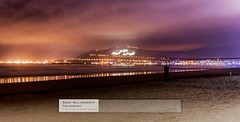 Agadir Beach at Night (doublejeopardy) Tags: sea beach sand agadir morocco nighttime