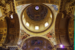 San Andrea della valle 7 (Le Mouche) Tags: rome roma iglesia kirche chiesa cupola dome glise rom churche kuppel sanandreadellavalle