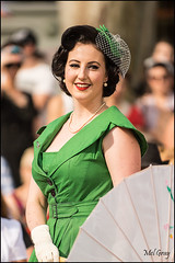 Pretty-in-green_DSC8540 (Mel Gray) Tags: fashion nostalgia 1950s newsouthwales rocknroll hunterregion kurrikurri kurrikurrinostalgiafestival2014