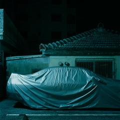 (akira ASKR) Tags: night fuji okinawa  provia100f  hasselblad500cm koza rdpiii  planarcf80mm 201408