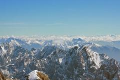 Zugspitze (mightymightymatze) Tags: vacation mountain holiday mountains alps berg austria tirol sterreich spring holidays urlaub berge alpen ferien tyrol frhling zugspitze 2014 frhjahr zugspitzarena