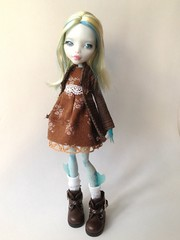 Custom mh lagoona blue (mishanetoto) Tags: monster high doll custom mh lagoona