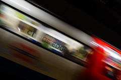 Central Line Tube (Rovers number 9) Tags: uk england london sony tube april a77 2014 sonya77 april2014