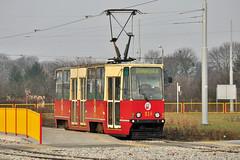 Konstal 805Na #218 MZK Toruń (3x105Na) Tags: 1 tram poland polska solo strassenbahn 218 tramwaj toruń uniwersytet mzk konstal pętla 805na solówka gleisschleife mzktoruń