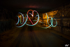 (siomara.reigfornes) Tags: nightphotography lightpainting color art photo picture pic led nocturna capture tunel cor corazon ondara lightpainters