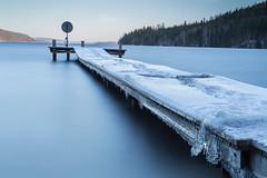 4L3A7019 (AndersWx) Tags: longexposure blue snow ice is jetty snö blå brygga hagudden fryken canon5dmarkiii leebigstopper sigma50mm14art lee6ndgradsoft