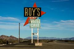 Roy's Motel & Cafe (bryanscott) Tags: california sign typography unitedstates signage type amboy
