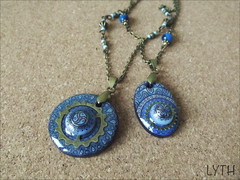 ws-small-together (alexandra.lyth) Tags: painting miniature jewelry ornament gears pendant weathersystems