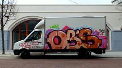 Graffiti (oerendhard1) Tags: urban streetart art graffiti rotterdam vandalism ob obs pubke