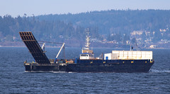 1292_Wendy O and Spruce (lg evans Maritime Images) Tags: canon tug tugs spruce tow barge shipcanal wendyo seattlewa workboat lgevans rubyviii lgevans