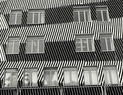 Bari (loungerie) Tags: blackandwhite italy window lines architecture modern blackwhite italia geometry puglia modernarchitecture architettura biancoenero