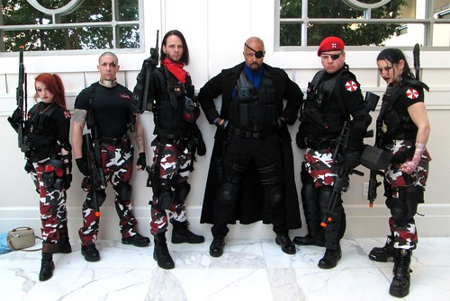 umbrella corp red ops team and nick fury a photo on flickriver
