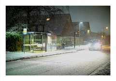 Almere in de sneeuw (Boldgraphy) Tags: 50mm fujifilm ultra f12 xm1 speedbooster metabones