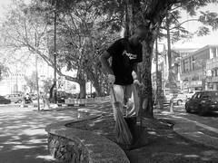 keep town clean :) (KHarrisN) Tags: camera white black west photo bald panasonic malaysia and jpeg cheap taman kuantan pahang compact kerang 2015 sapu sampah lynas dmcfh1