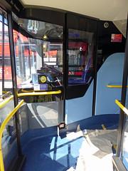 GAL EH52 - YX16OCH - INTERIOR - BV GARAGE - 28TH APR 2016 K (Bexleybus) Tags: bus london ahead interior garage go 400 belvedere dennis mmc bv enviro adl goahead eh52 yx16och