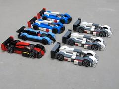 Le Mans 2013 (// PROTOTYP) Tags: lego lola toyota rebellion audi lemans r18 tinyturbos legoraces ts030 legolemans