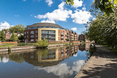 Nottingham Canal Appartments (roderick smith) Tags: bluesky nottinghamcanal efs1585mm canon70d eos70d