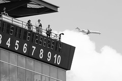 Rooftop photographers (michaelallanfoley) Tags: nikon 300mm fresnel 300 phase f4 vr pf f4e d7000
