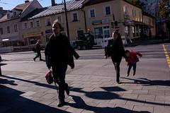 . (www.piotrowskipawel.pl) Tags: street city people germany children mnchen bayern jump streetphotography photojournalism documentary documentaryphotography colorstreetphotography pawepiotrowski piotrowskipawelpl