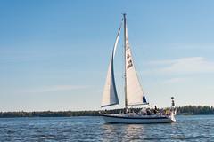 Sailing (JarkkoS) Tags: sea water espoo finland landscape boat spring boating fi d800 uusimaa esbo suomenlahti suvisaaristo 2470mmf28eedafsvr