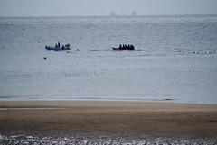 Elie - Bananenbootfahrer, die 8. und letzte (a-r-a-55) Tags: scotland elie schottland grosbritannien